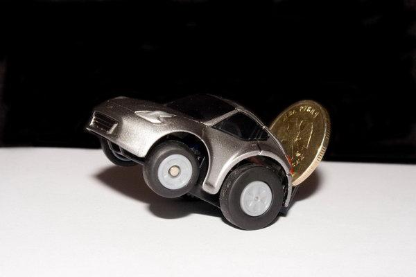 Монетка в качестве утяжелителя