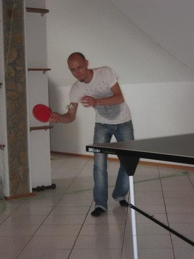 В теннис я тогда проиграл с большим отрывом :-(