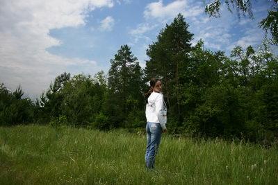 Катюха в поле