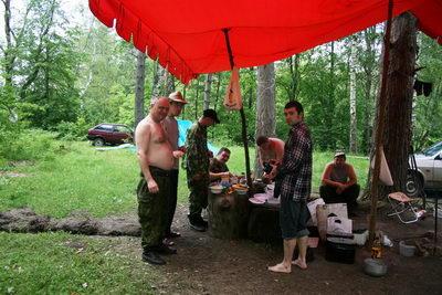 Население лагеря