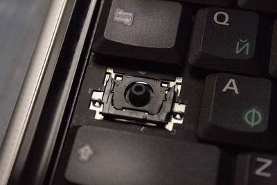 А вот она видна при снятой крышке клавиши