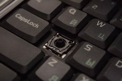Вот как выглядит обычная клавиша без крышки