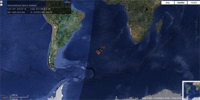 МКС летит на высоте 360563м со скоростью 27692,801 км/час