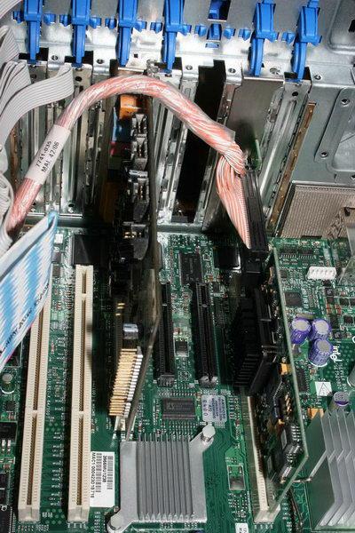Добавлена звуковуха в PCI слот