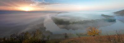 Восход на Красивой Мече