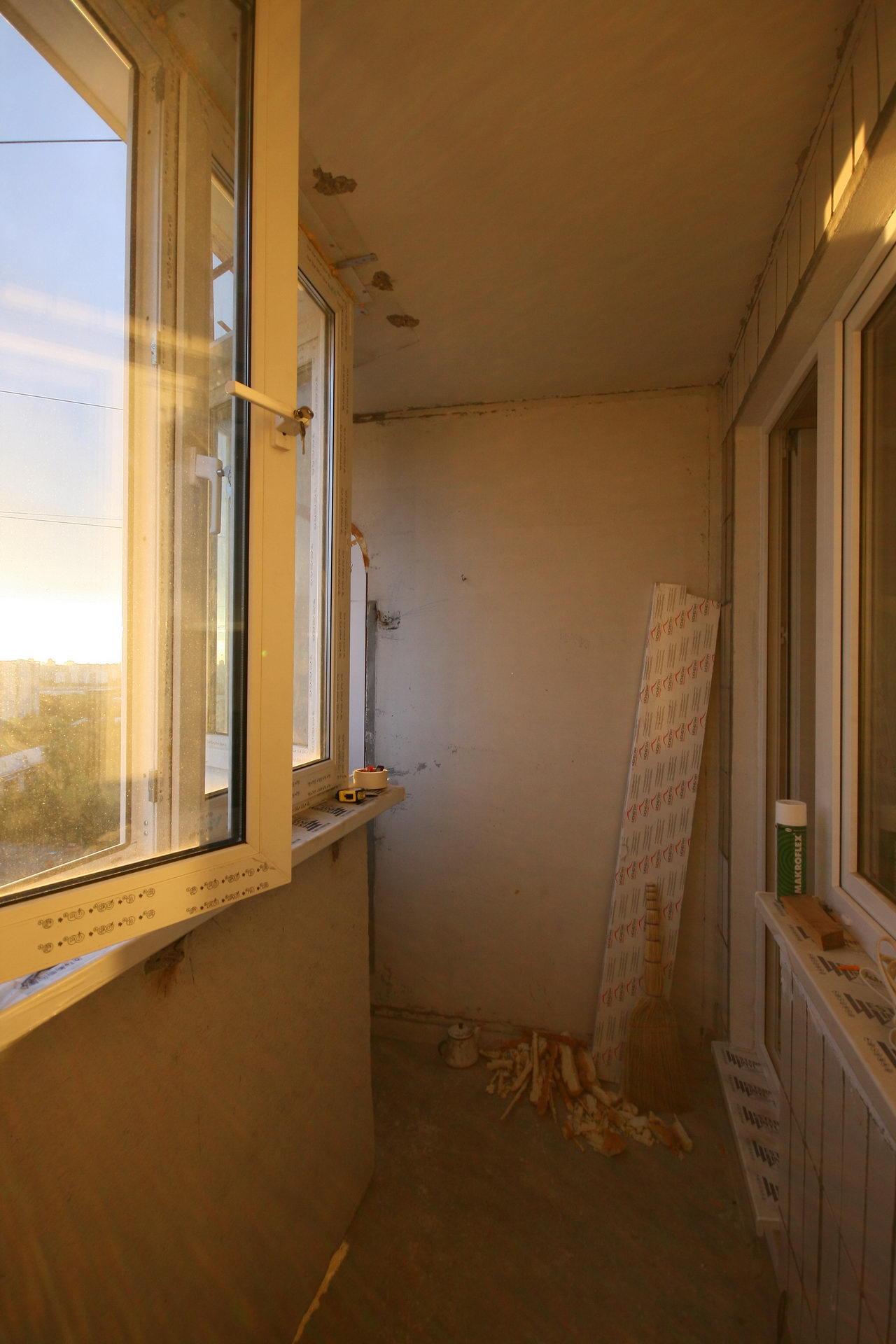 Чем утепляют балкон своими руками