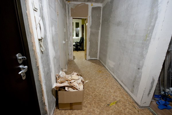 Ремонт в коридоре Секреты автомобилиста