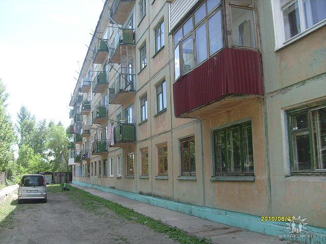 Задняя сторона дома №68.