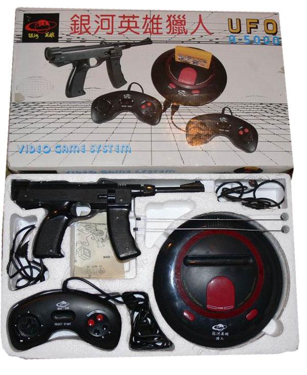 Клон приставки Famicom UFO-A500 II