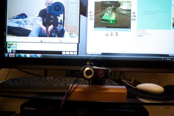 Камера и управляющий интерфейс