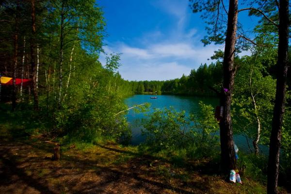Ещё вид на озеро, в другом направлении