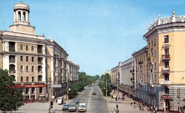 Тула. Улица Первомайская.