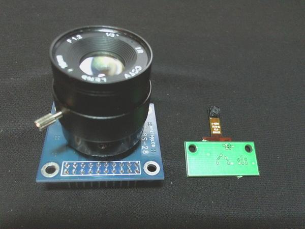 MT9M111 в сравнении с мелкой OV7675