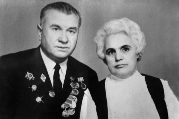 Васютин А.И. с Васютиной В.И